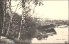 Jelenia Góra - fragment nad Kamienną [Dokument ikonograficzny]