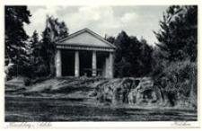 Jelenia Góra - Helikon - (nieistniejąca) budowla w stylu antycznej świątyni greckiej [Dokument ikonograficzny]