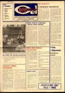 """Wspólny cel : gazeta załogi ZWCH """"Chemitex-Celwiskoza"""", 1983, nr 22 (887)"""