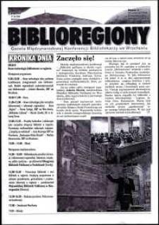 Biblioregiony : gazeta Międzynarodowej Konferencji Bibliotekarzy we Wrocławiu, 2008, nr 2