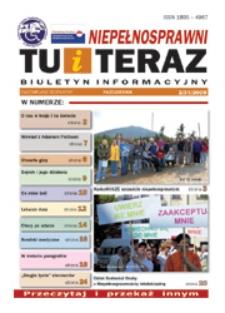 Niepełnosprawni Tu i Teraz : jeleniogórski biuletyn informacyjny niepełnosprawnych, 2009, nr 2 (31)
