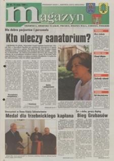 """Magazyn : Trzebnica, Oborniki Śląskie, Prusice, Wisznia Mała, Zawonia, Żmigród : bezpłatny dodatek do """"Robotniczej Gazety Wrocławskiej"""", 1998, nr 30 [15.05]"""