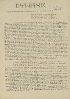"""Dywanik : pismo niezależne członków NSZZ """"Solidarność"""" w Kowarach, 1983, nr 7"""
