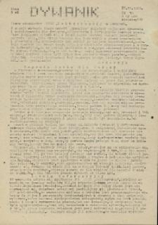 """Dywanik : pismo niezależne członków NSZZ """"Solidarność"""" w Kowarach, 1983, nr 10"""