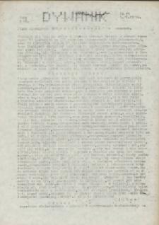 """Dywanik : pismo niezależne członków NSZZ """"Solidarność"""" w Kowarach, 1983, nr 11"""