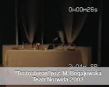 Testosteron [zapis spektaklu] [Film]
