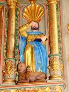Św. Marek - rzeźba 3 [Dokument ikonograficzny]