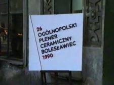 26. Ogólnopolski Plener Ceramiczny Bolesławiec 1990 [Film]