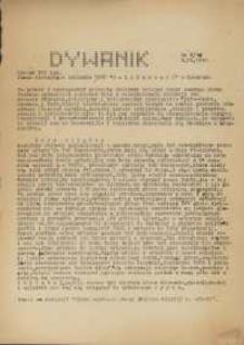 """Dywanik : pismo niezależne członków NSZZ """"Solidarność"""" w Kowarach, 1984, nr 3 (16)"""