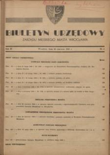 Biuletyn Urzędowy Zarządu Miejskiego Miasta Wrocławia, R. 3, 1949, nr 6 [30 czerwca]