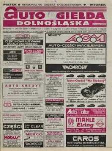 Auto Giełda Dolnośląska : regionalna gazeta ogłoszeniowa, R. 5, 1997, nr 10 (338) [31.01]
