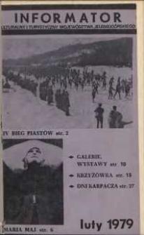 Informator Kulturalny i Turystyczny Województwa Jeleniogórskiego, 1979, nr 2