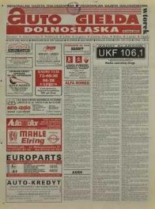Auto Giełda Dolnośląska : regionalna gazeta ogłoszeniowa, R. 5, 1997, nr 67 (395) [26.08]