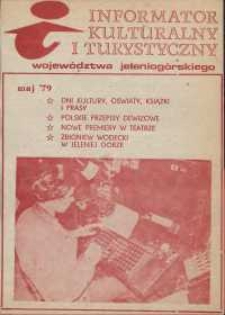 Informator Kulturalny i Turystyczny Województwa Jeleniogórskiego, 1979, nr 5