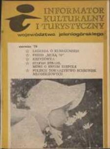 Informator Kulturalny i Turystyczny Województwa Jeleniogórskiego, 1979, nr 6