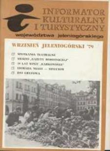 Informator Kulturalny i Turystyczny Województwa Jeleniogórskiego, 1979, nr 9
