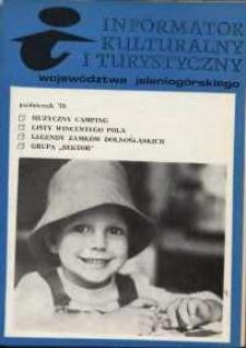 Informator Kulturalny i Turystyczny Województwa Jeleniogórskiego, 1979, nr 10