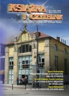 Książka i Czytelnik : czasopismo bibliotekarzy Dolnego Śląska, 2009, nr 3