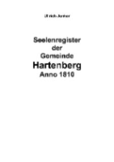 Seelenregister der Gemeinde Hartenberg Anno 1810 [Dokument elektroniczny]