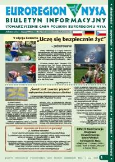 Euroregion Nysa : biuletyn informacyjny Stowarzyszenia Gmin Polskich Euroregionu Nysa, 2009, nr 3 (55)