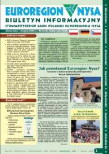 Euroregion Nysa : biuletyn informacyjny Stowarzyszenia Gmin Polskich Euroregionu Nysa, 2009, nr 6 (58)