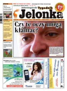 Jelonka.com : jeleniogórski tygodnik, R. II, 2007, 38 (49) [Dokument elektroniczny]