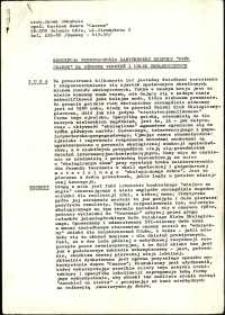 """Koncepcja przeznaczenia zabytkowego zespołu """"Dwór Czarne"""" na ośrodek wdrożeń i usług ekologicznych"""