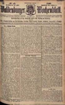Waldenburger Wochenblatt, Jg. 55, 1909, nr 48