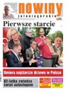 Nowiny Jeleniogórskie : tygodnik społeczny, R.57!, 2015, nr 31 (2928) [Dokument elektroniczny]