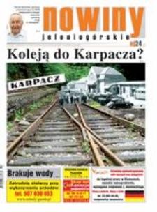 Nowiny Jeleniogórskie : tygodnik społeczny, R.57!, 2015, nr 32 (2929) [Dokument elektroniczny]