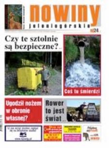 Nowiny Jeleniogórskie : tygodnik społeczny, R.57!, 2015, nr 35 (2932) [Dokument elektroniczny]