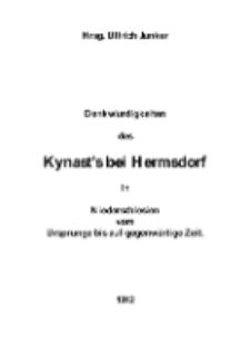 Denkwürdigkeiten des Kynast's bei Hermsdorf in Niederschlesien vom Ursprunge bis auf gegenwärtige Zeit [Dokument elektroniczny]