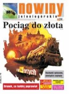 Nowiny Jeleniogórskie : tygodnik społeczny, R.57!, 2015, nr 36 (2933) [Dokument elektroniczny]