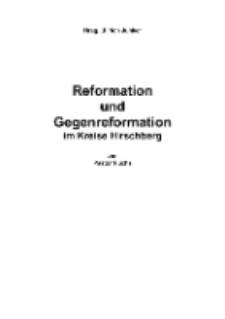 Reformation und Gegenreformation im Kreise Hirschberg [Dokument elektroniczny]