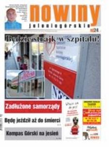 Nowiny Jeleniogórskie : tygodnik społeczny, R.57!, 2015, nr 40 (2937) [Dokument elektroniczny]