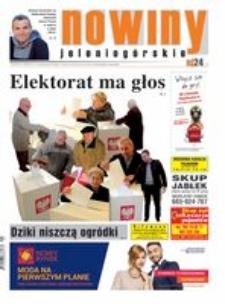 Nowiny Jeleniogórskie : tygodnik społeczny, R.57!, 2015, nr 41 (2938) [Dokument elektroniczny]