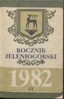 Rocznik Jeleniogórski, T. 20 (1982)