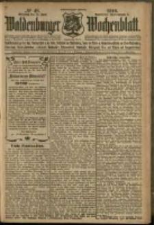 Waldenburger Wochenblatt, Jg. 56, 1910, nr 48