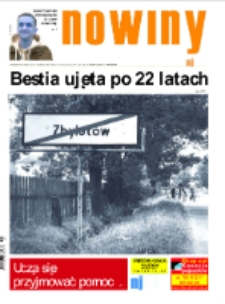Nowiny Jeleniogórskie : tygodnik społeczny, R.57!, 2015, nr 45 (2942) [Dokument elektroniczny]