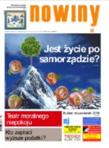 Nowiny Jeleniogórskie : tygodnik społeczny, R.57!, 2015, nr 47 (2944) [Dokument elektroniczny]