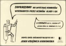 Zapraszamy na wystawę komiksów wykonanych przez uczniów klasy I Ga