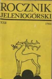 Rocznik Jeleniogórski, T. 22 (1984)