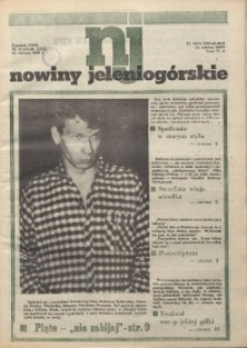 Nowiny Jeleniogórskie : tygodnik PZPR, R. 31, 1988, nr 24 (1540!)