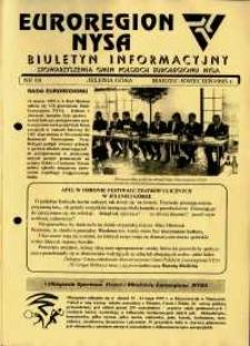 Euroregion Nysa : biuletyn informacyjny Stowarzyszenia Gmin Polskich Euroregionu Nysa, 1995, nr 18
