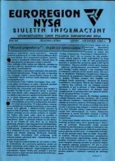 Euroregion Nysa : biuletyn informacyjny Stowarzyszenia Gmin Polskich Euroregionu Nysa, 1995, nr 20