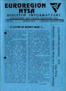 Euroregion Nysa : biuletyn informacyjny Stowarzyszenia Gmin Polskich Euroregionu Nysa, 1995, nr 22