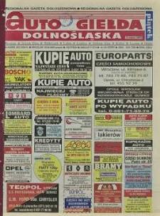 Auto Giełda Dolnośląska : regionalna gazeta ogłoszeniowa, 2000, nr 34 (663) [28.04]