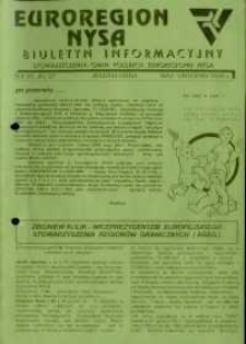 Euroregion Nysa : biuletyn informacyjny Stowarzyszenia Gmin Polskich Euroregionu Nysa, 1996, nr 25-27