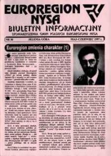 Euroregion Nysa : biuletyn informacyjny Stowarzyszenia Gmin Polskich Euroregionu Nysa, 1997, nr 30