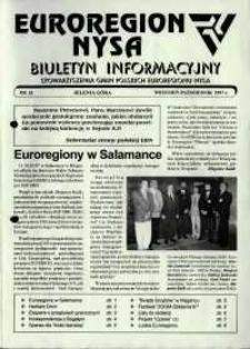 Euroregion Nysa : biuletyn informacyjny Stowarzyszenia Gmin Polskich Euroregionu Nysa, 1997, nr 32